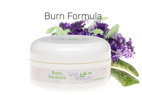 CBD Burn Formula helps cancer patients relieve radiation burn