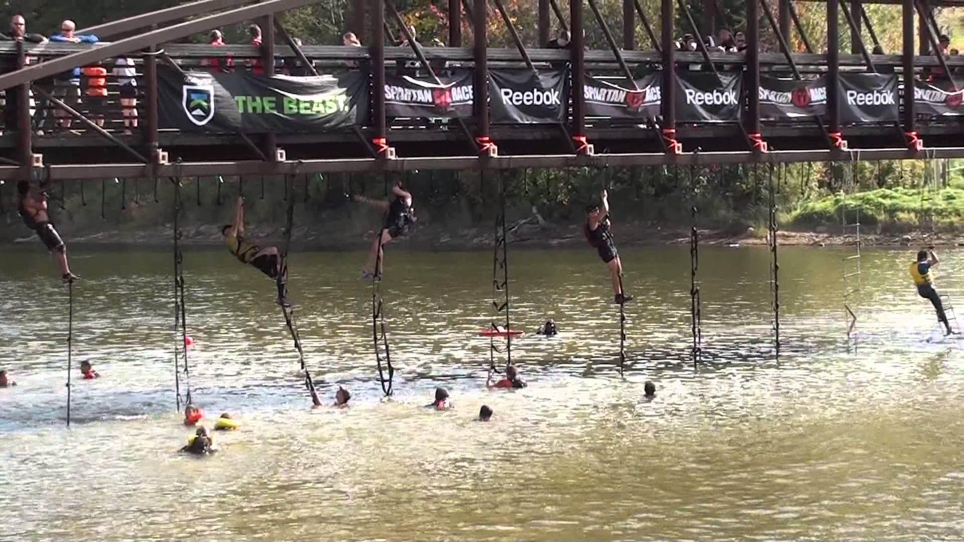 The Tarzan Swing & Swim (Image Credit: Spartan Race - Race Photo Archive)