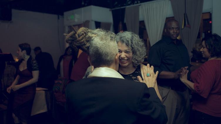 Afrodisiac Valentine's Tango Class 2014, LUCID Seattle     Photography: Eduardo Inclouds