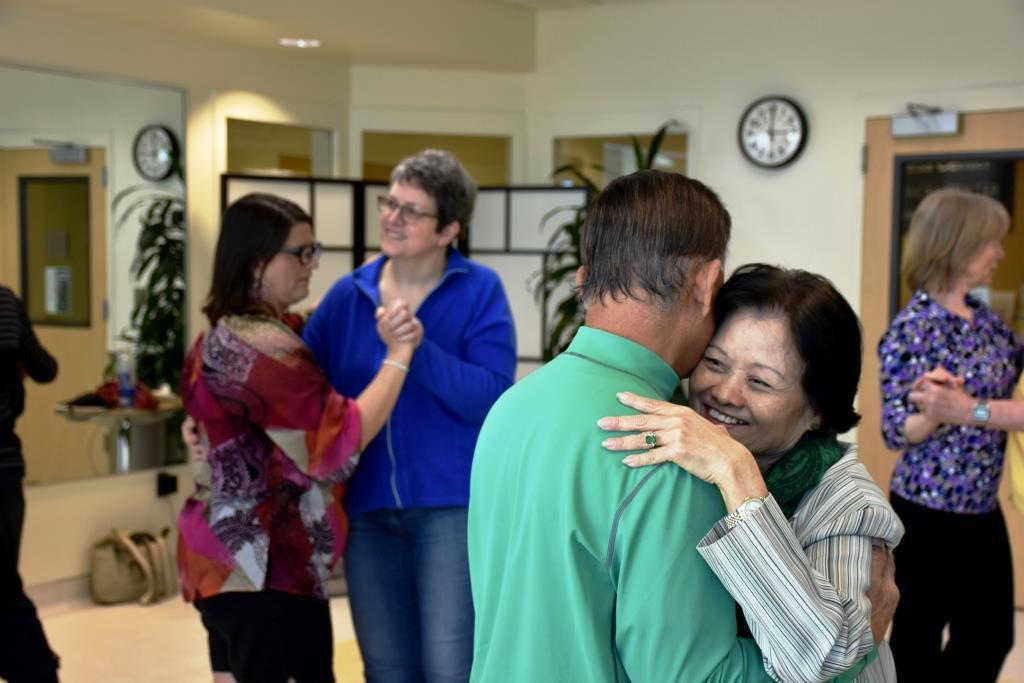 NeuroTango  Class for Stroke Survivors   Photo: Kelley Balcomb-Bartok, Valley Medical Center