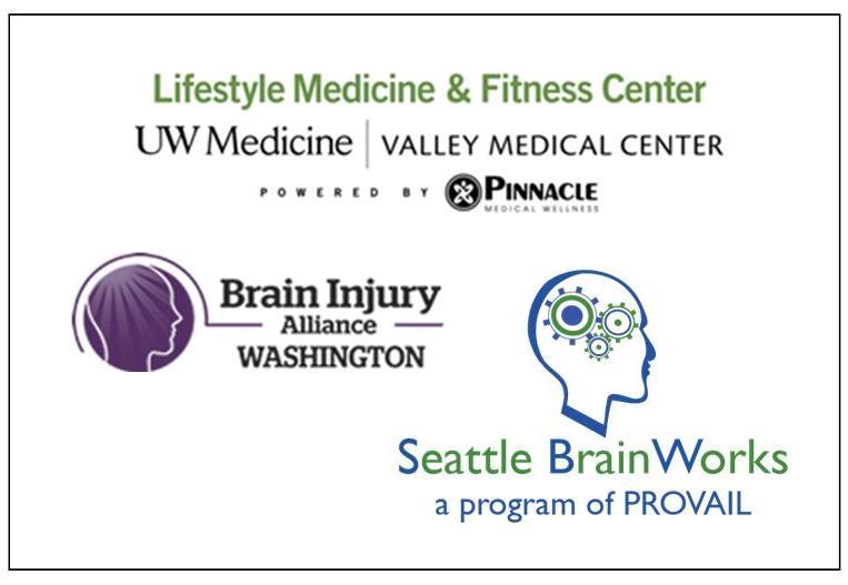 Valley Medical Fitness Center  -  Seattle BrainWorks  -  Brain Injury Alliance of Washington  (BIAWA)