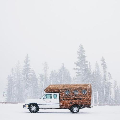 Delia the Worn Wear truck - where the magic happens