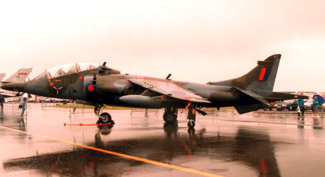 T Mk 4 XW269/BD operated by the SAOEU at Boscombe Down (Author)