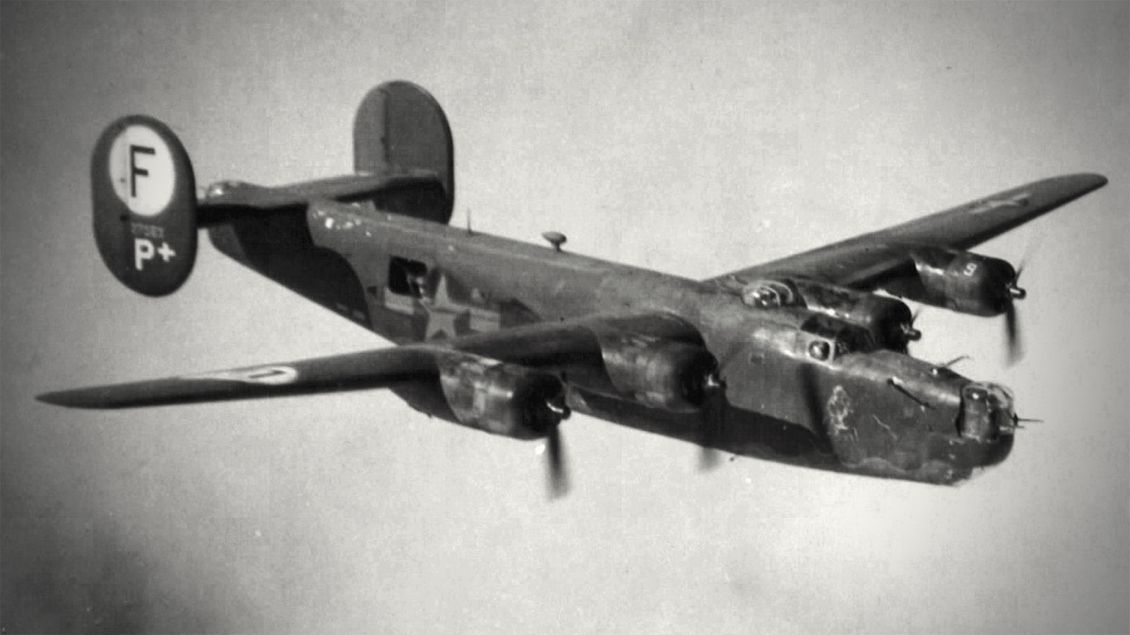 vintage photo of Consolidated B-24