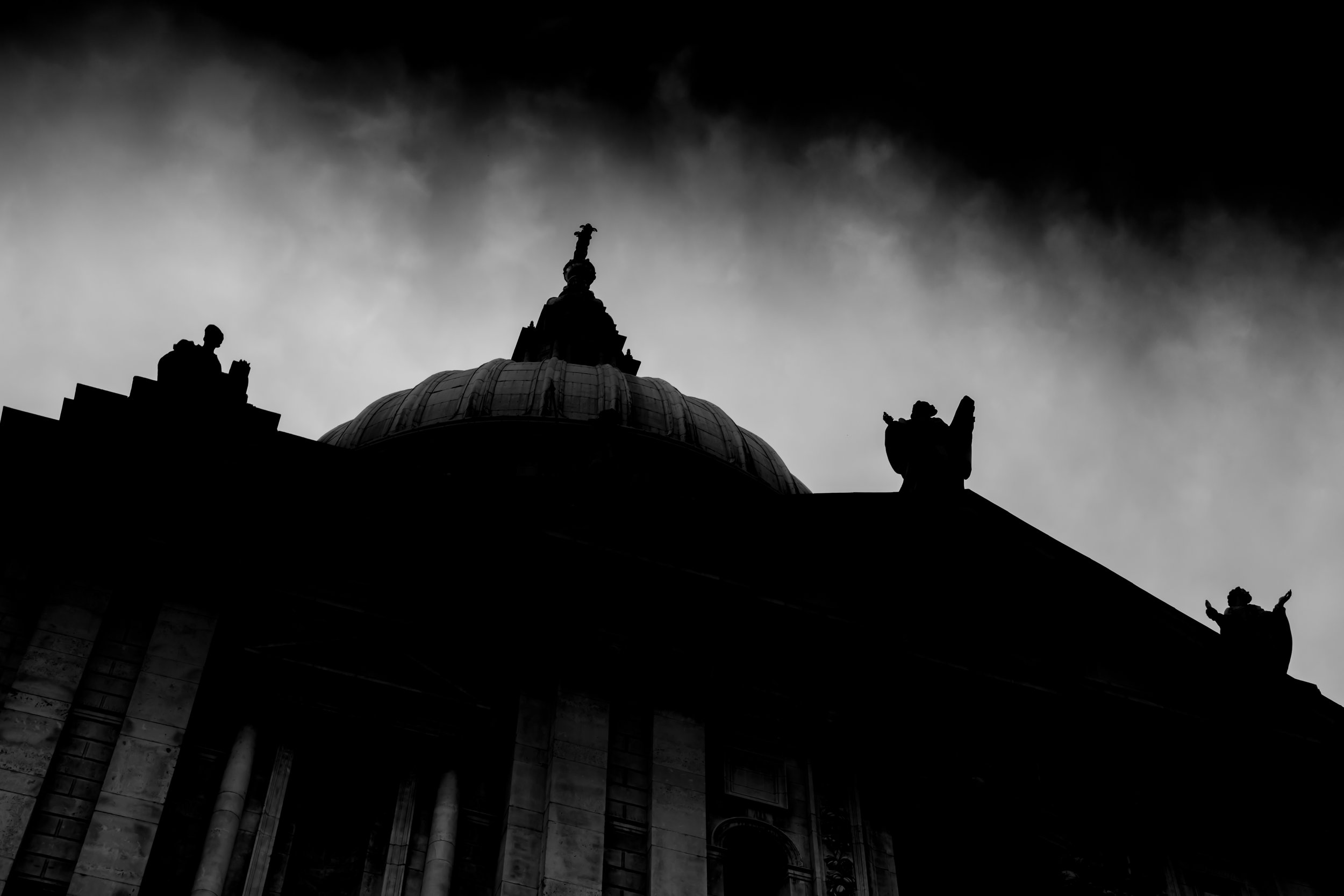 London St Paul's Cathedral Black & White Copyright © 2016 Robert Male Photography All Rights Reserved.jpg