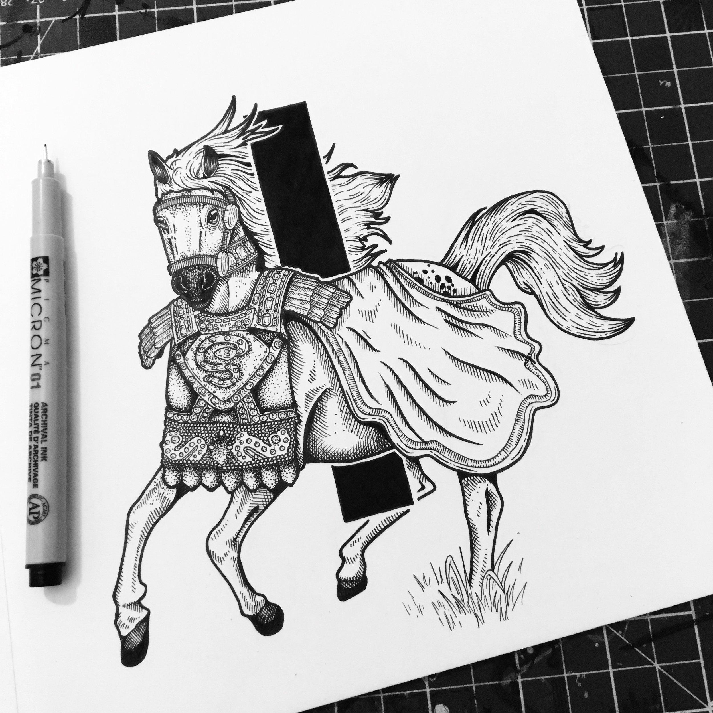 Invictus the Horse - made a senator by Roman Emperor Caligula.