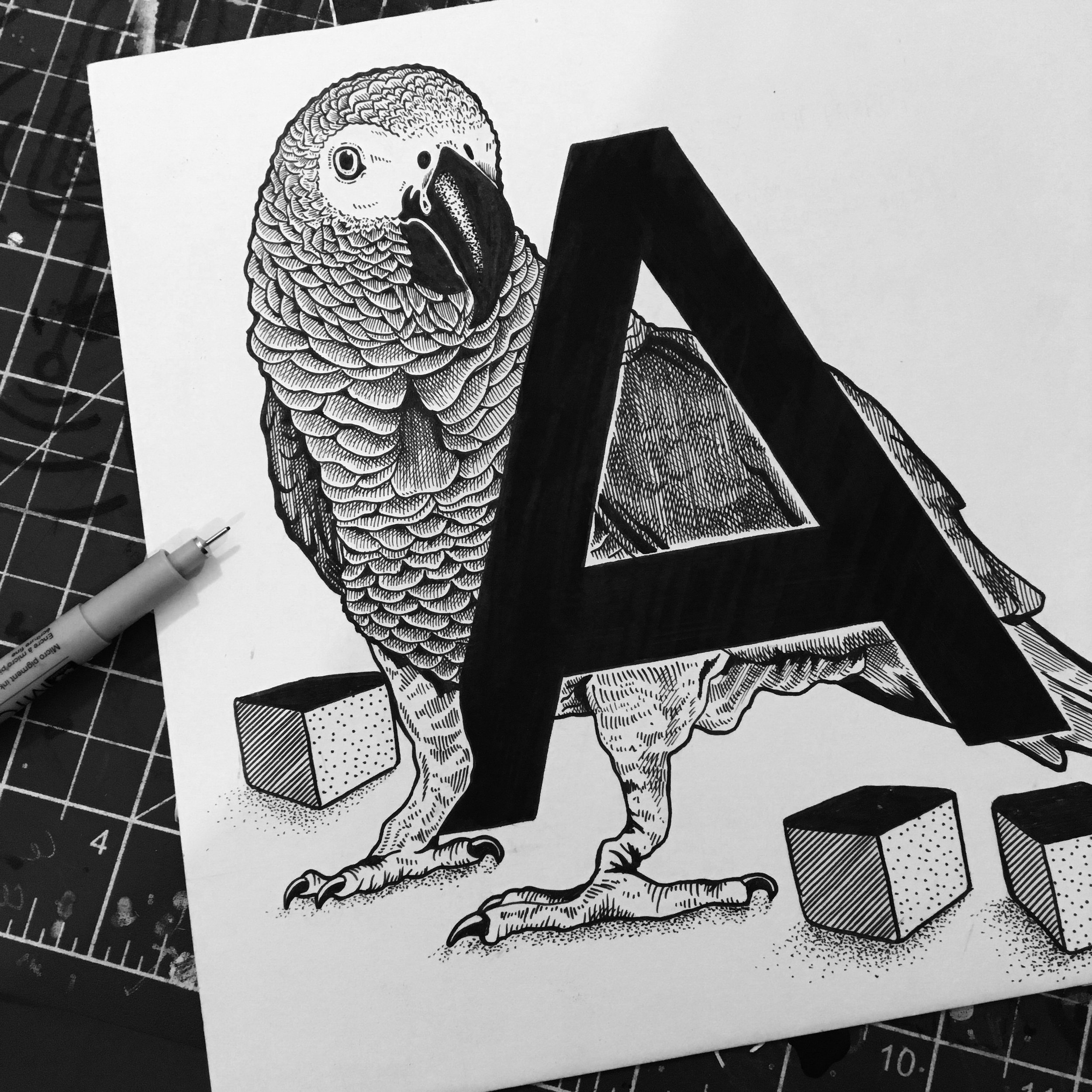 Famous Animal Alphabet