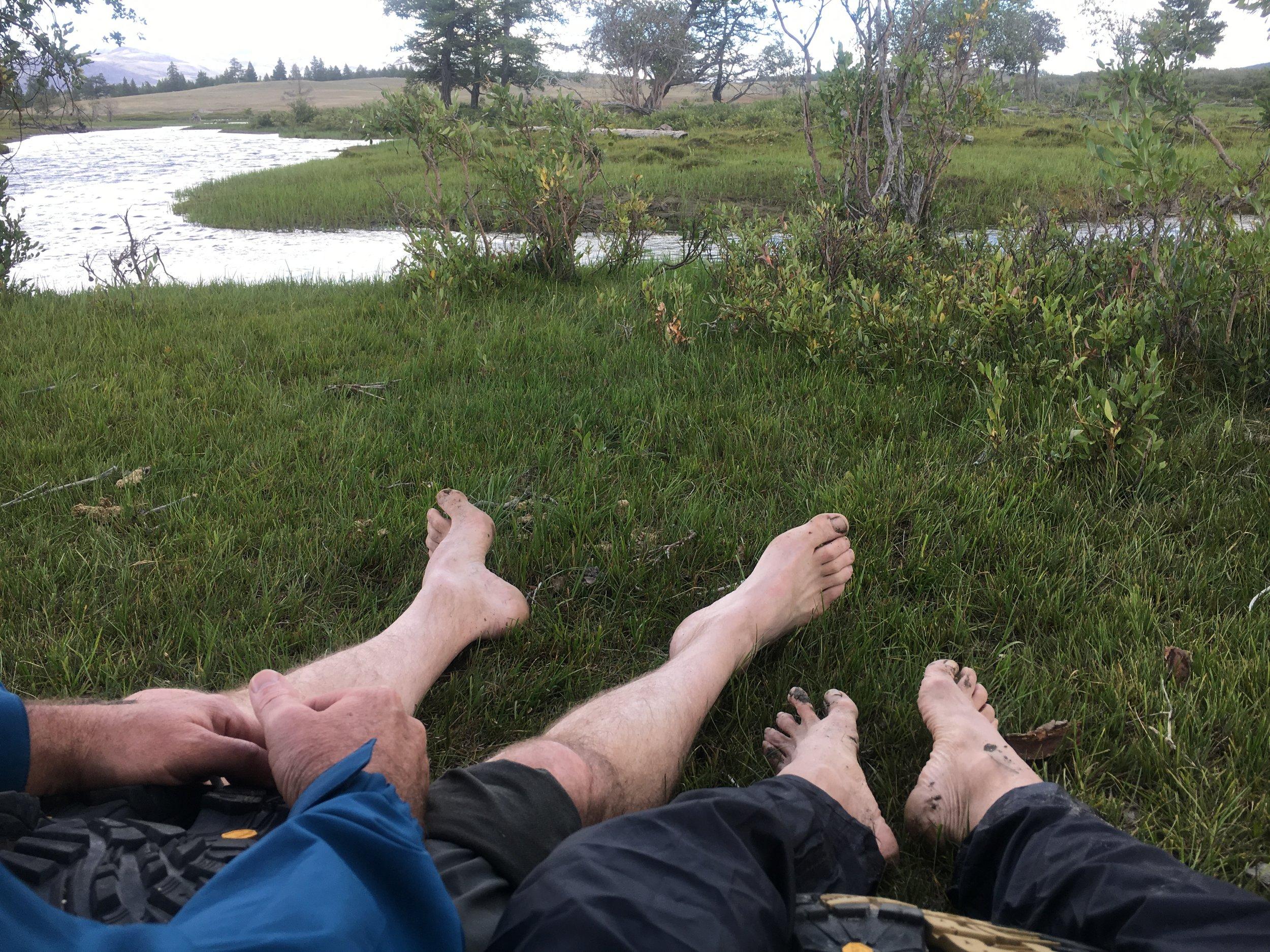 caught in the rain - Tavan Bogd National Paak.JPG