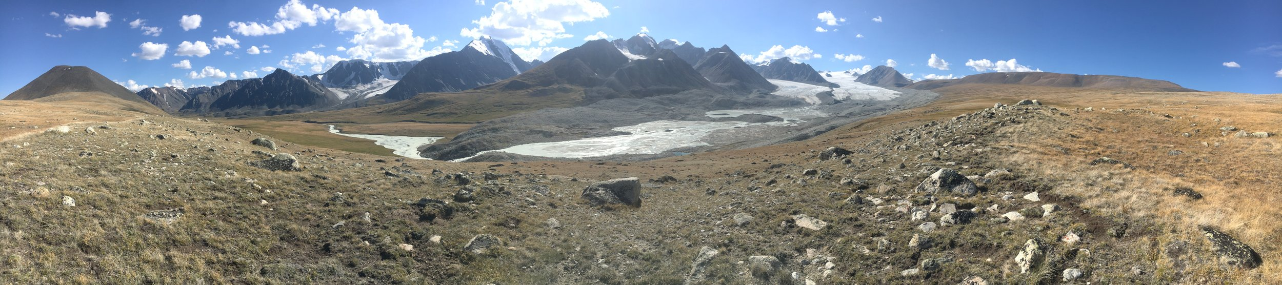 Tavan Bogd National Park - Potanin Glacier and Five Sacred Peaks, Mongolia