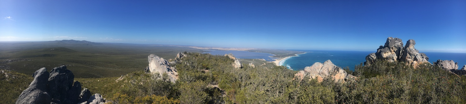 Fitzgerald River National Park - view from East Mt Barren