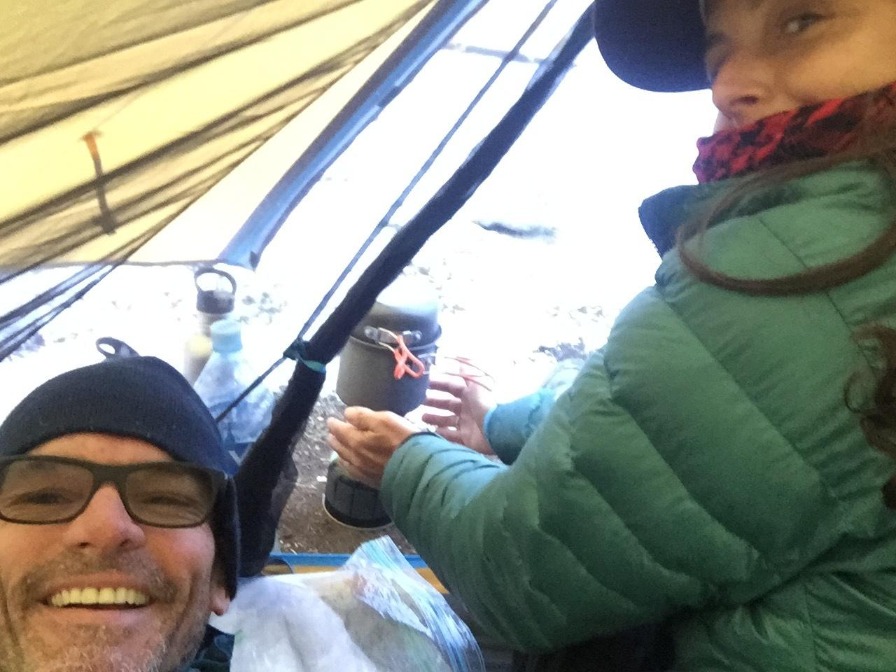 Tavan Bogd National Park - a tad cold on the last day.