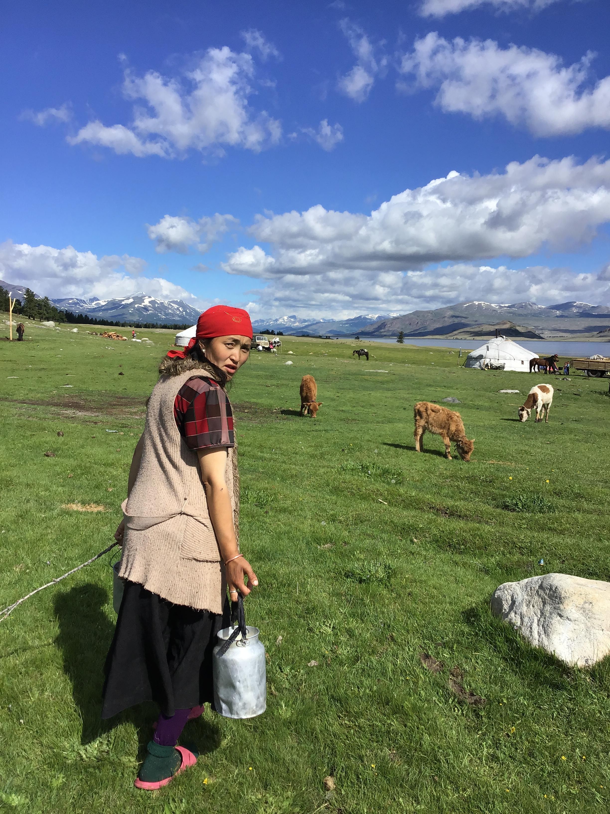 Nomadic life in the Tavan Bogd National Park