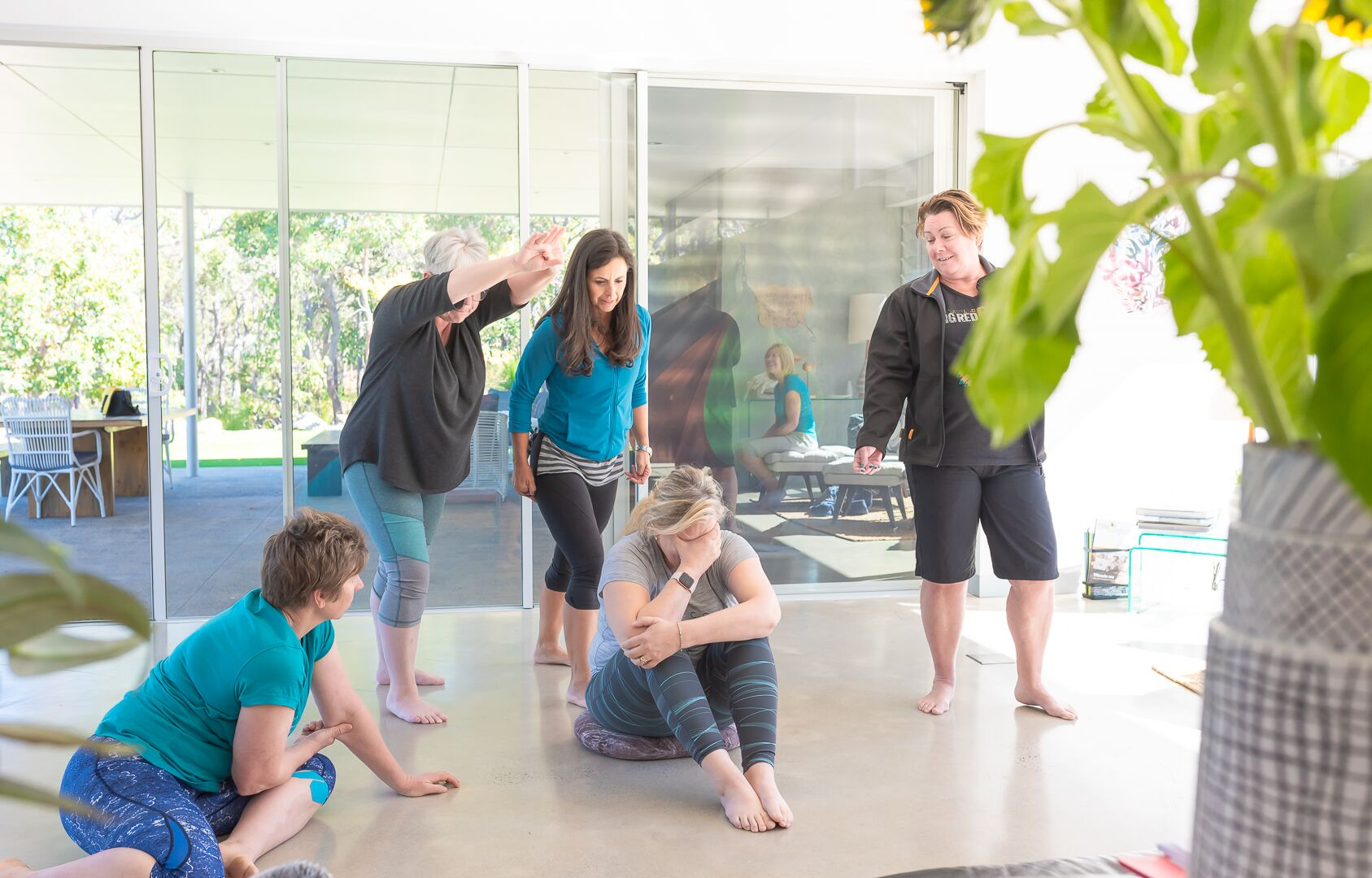 The Creativity Retreat - Margaret River - embodied play.