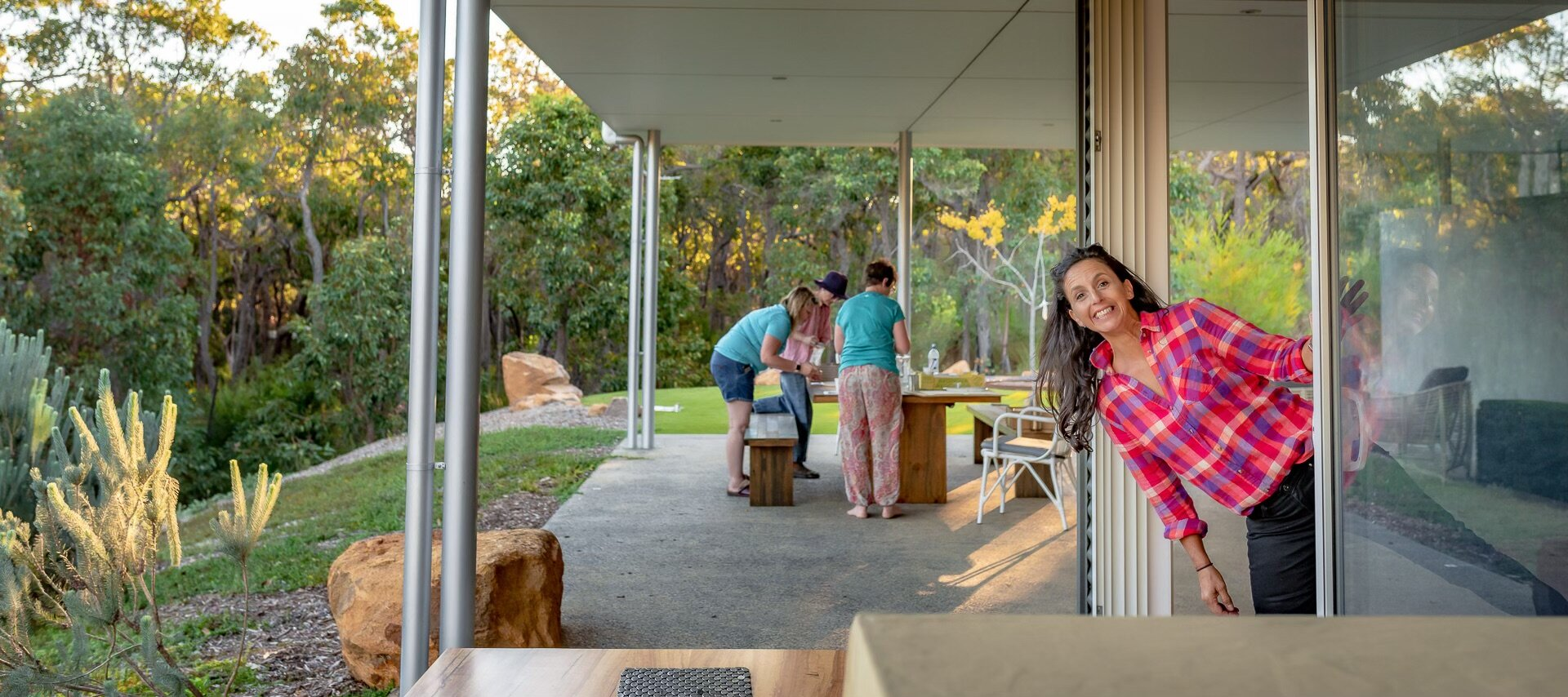 Our tenth retreat in Margaret River a the stunning J's Retreat