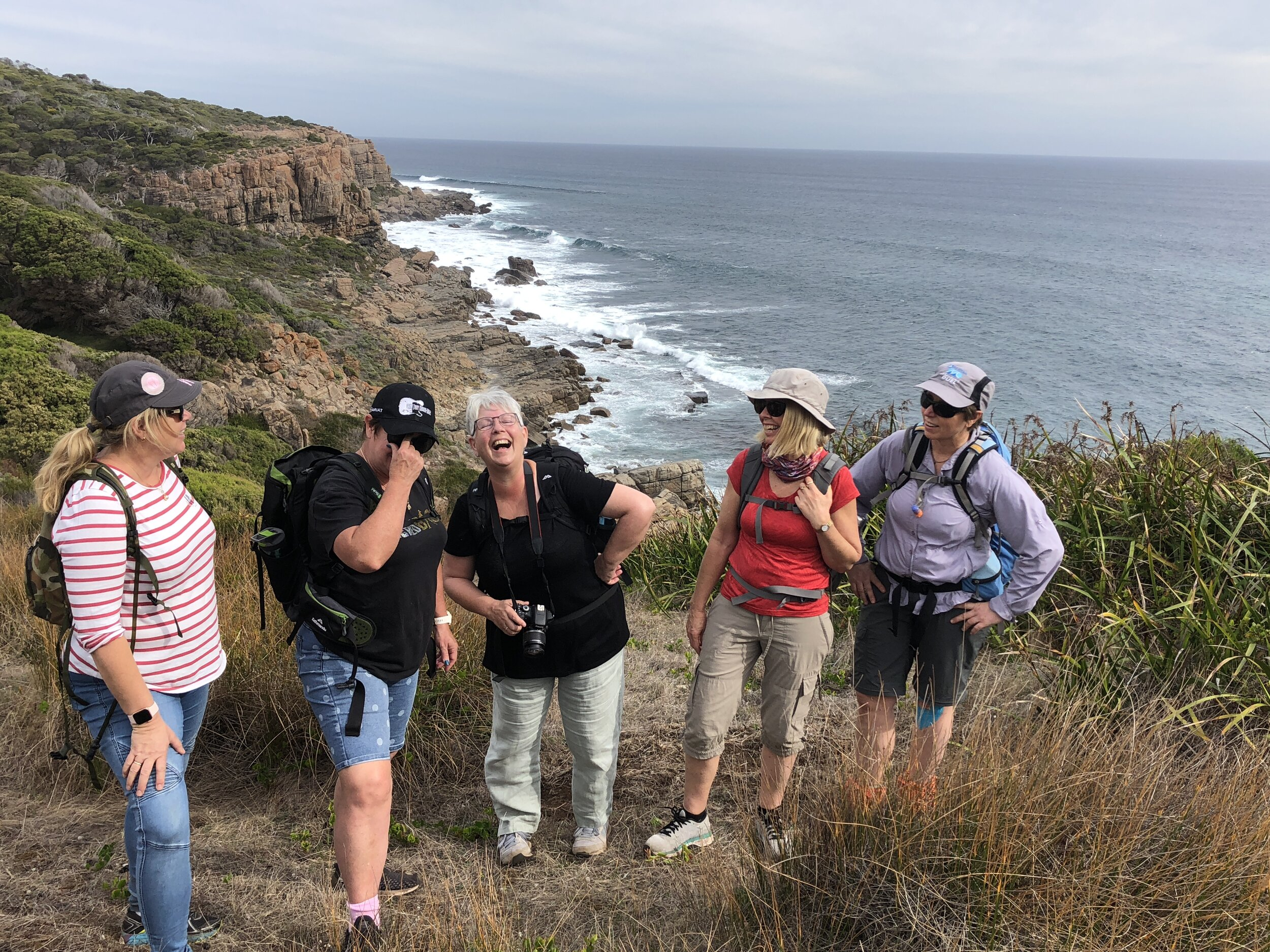 Walking on the Cape to Cape is joy and wonderment for everyone!