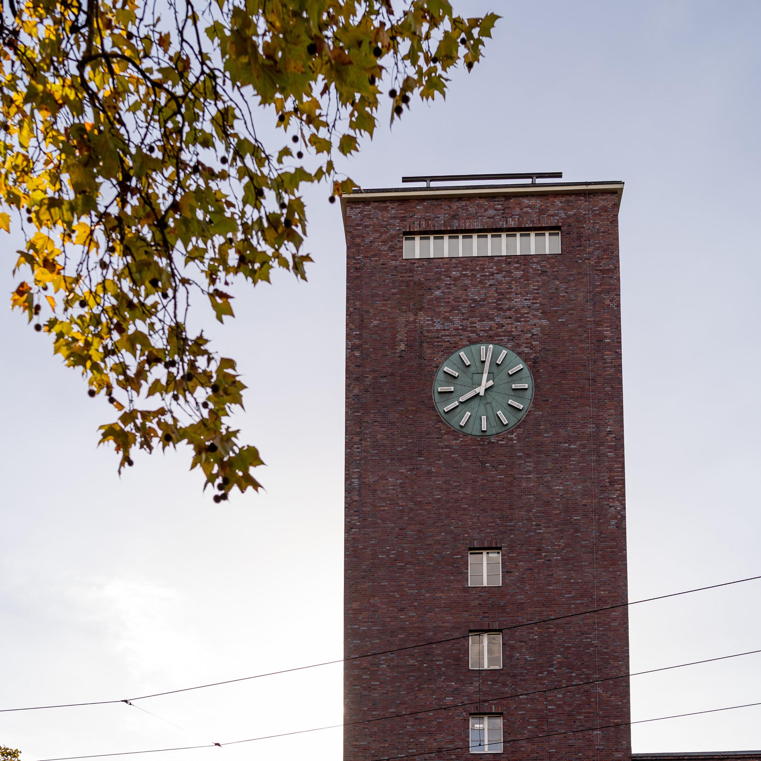 In diesem Turm - findet ganz viel Kultur statt!