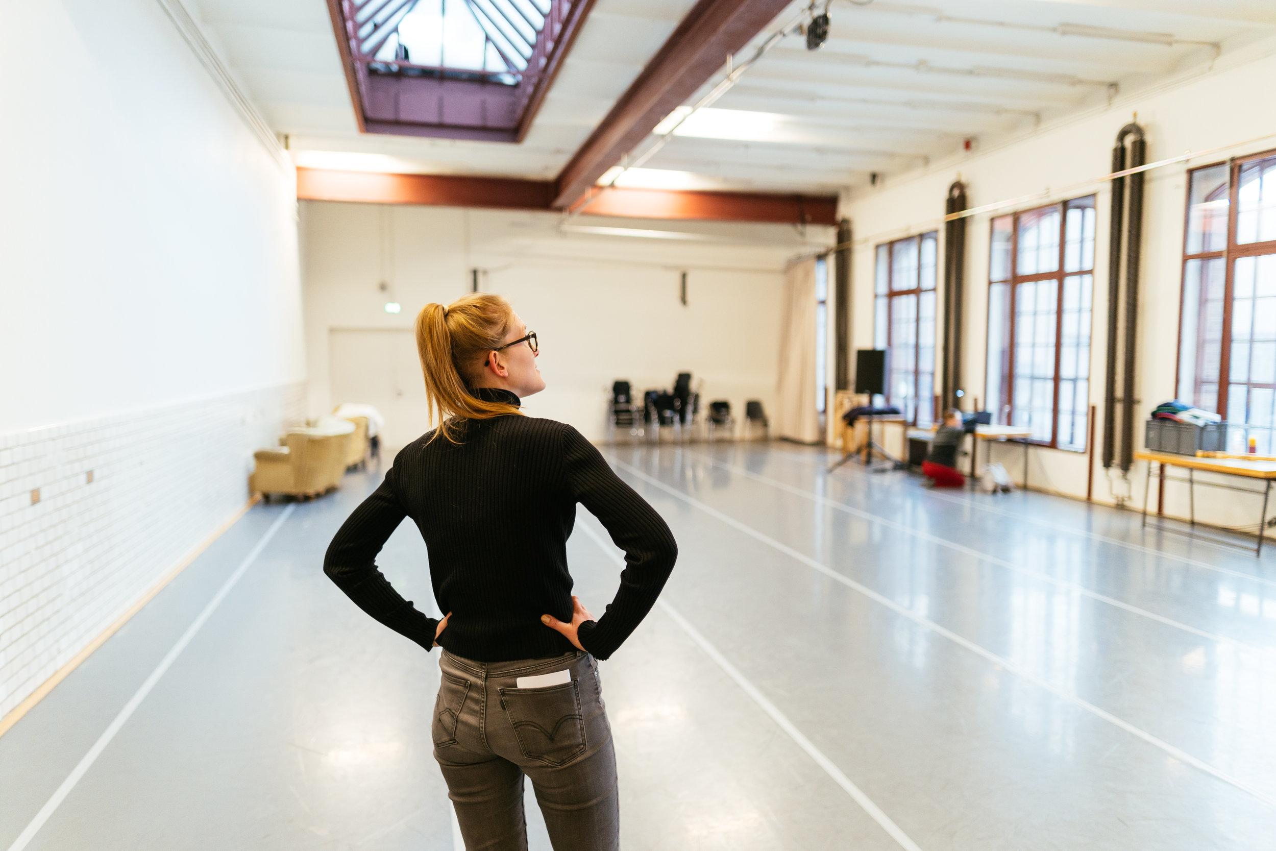 PACT bietet Raum– - hier können KünstlerInnen ohne Druck den besonderen Ort auf sich wirken lassen, Stücke (weiter–)entwickeln, reifen, das Ruhrgebiet und seine Menschen kennenlernen.