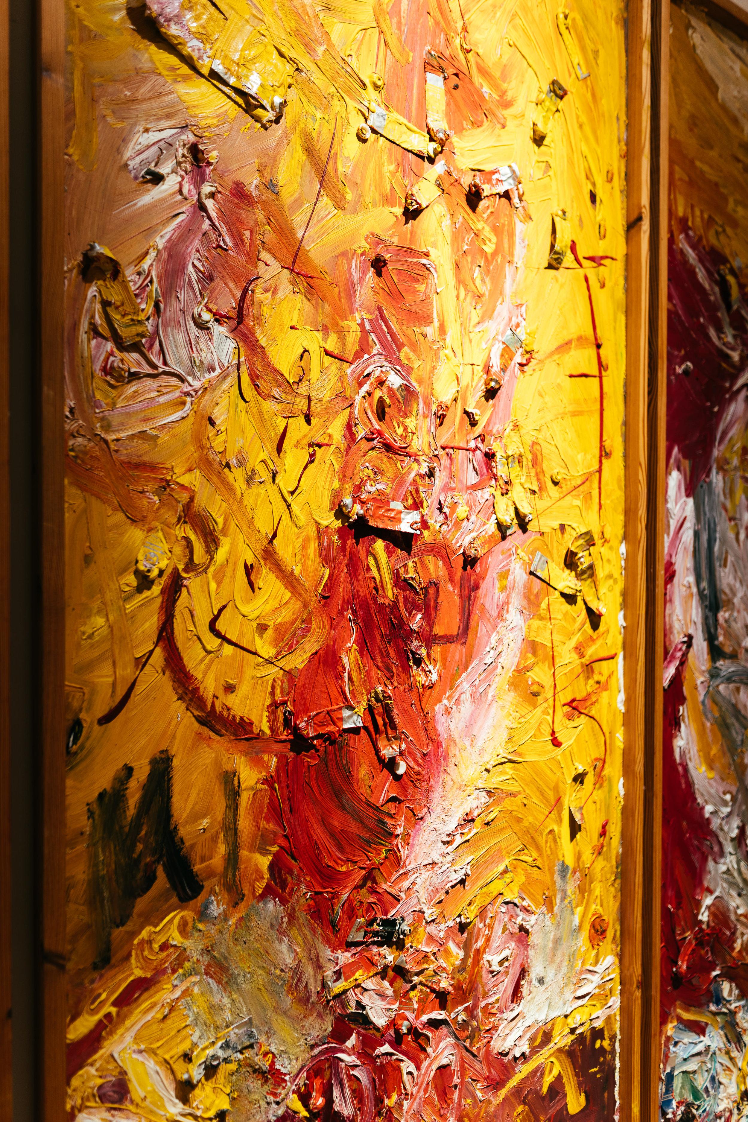 Begegnung mit der Kunst -