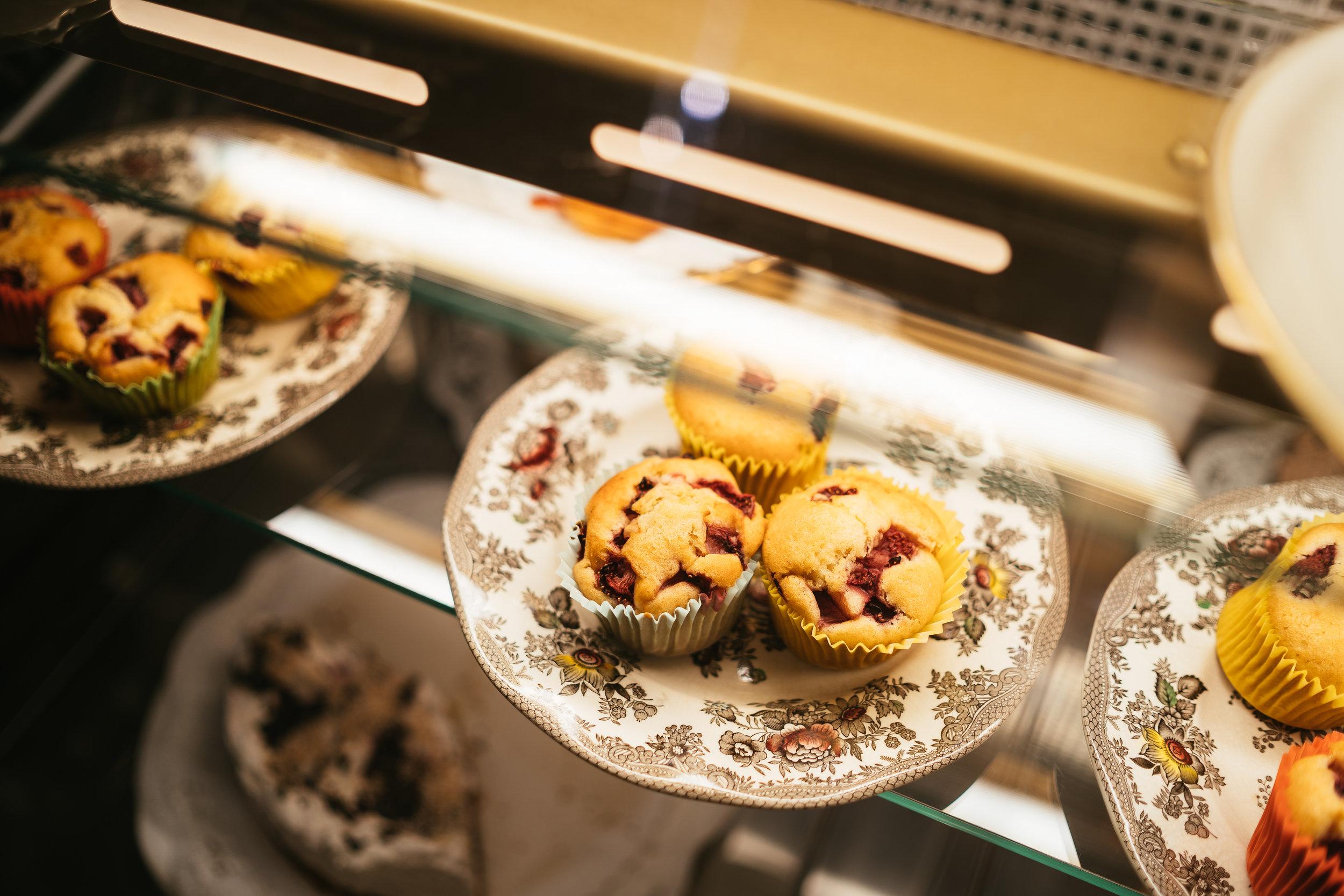 Lecker Nachtisch im Veganalina-Café! -