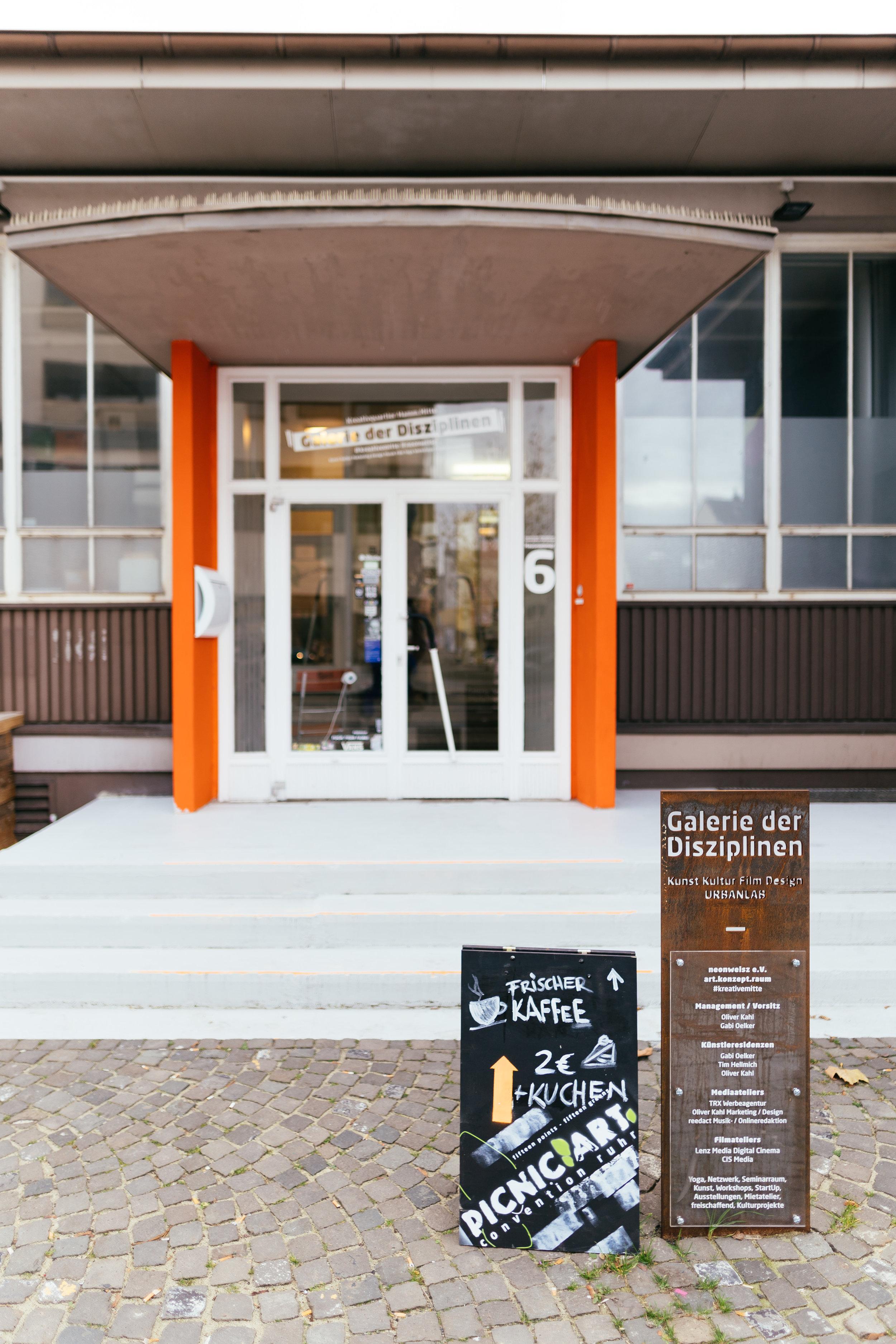 Hub für Kreativität und immer einen Besuch wert: - Die Galerie der Disziplinen!
