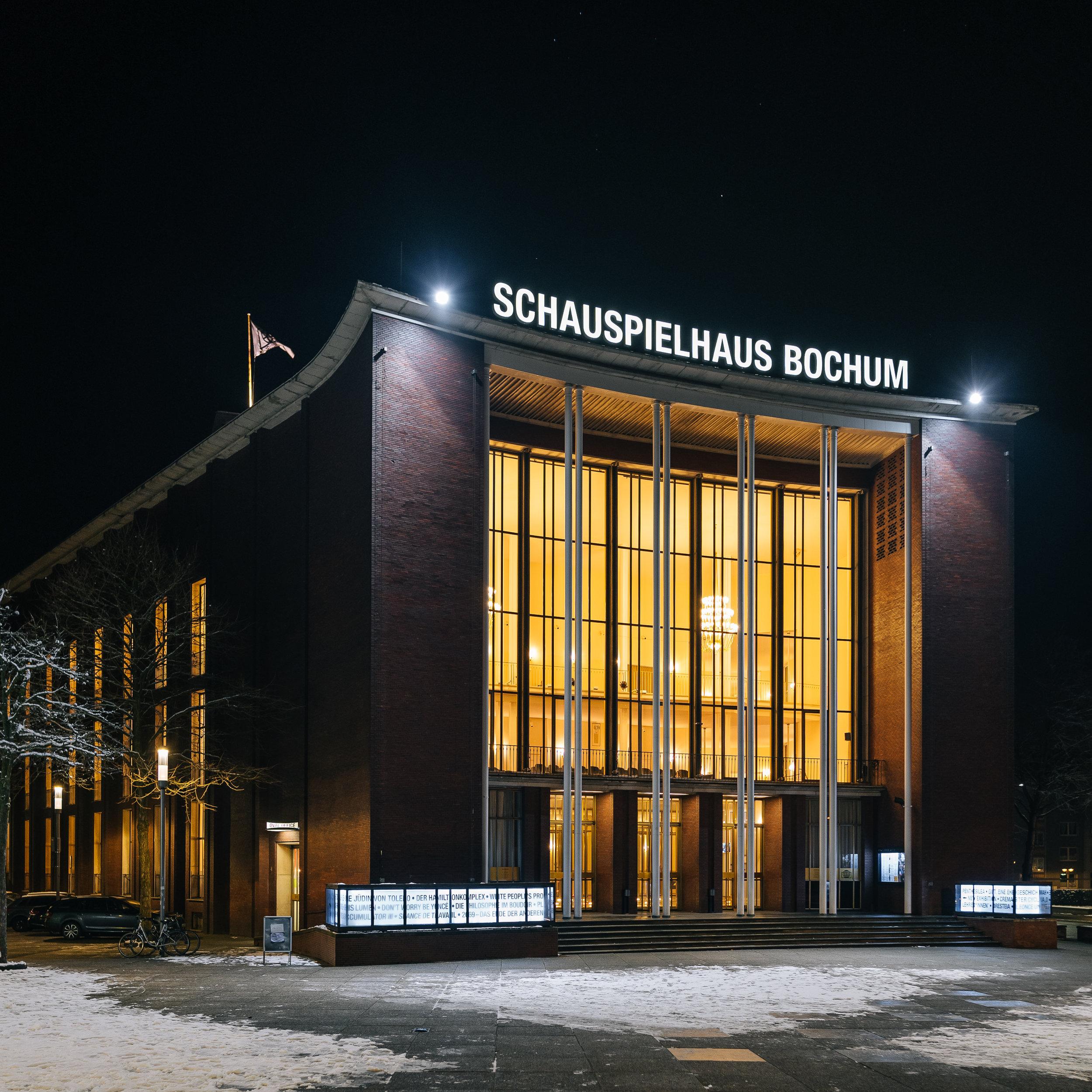 Geballte Theatergeschichte mit Coolness-Faktor – - unser Besuch im Schauspielhaus Bochum