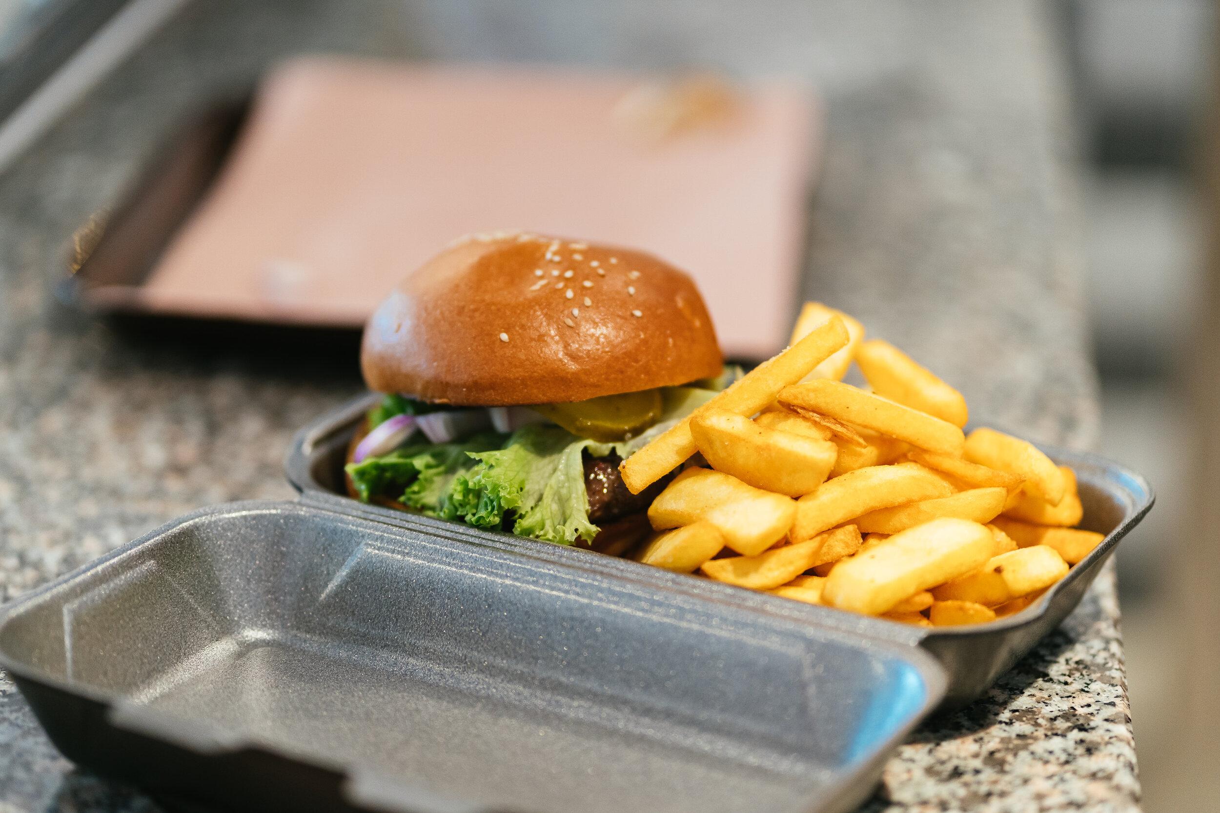 It's Burgertime! -