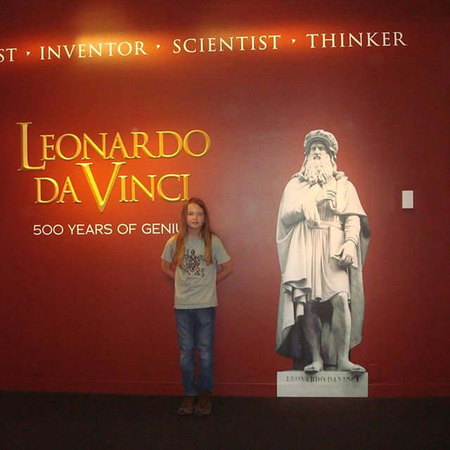 When the days are too hot, museums are often a favorite place to visit.  The Denver Museum of Nature and Science was having a temporary Exhibit on 500 years of Leonardo Da Vinci.  How could we resist.  Added on some VR fun too.  I was heartened to see so many people enjoying the museum and so interested in science.  #onhotdays #wherewego #museumfun #denvermuseumofnatureandscience #scienceisstillfun #crosscountrybreak #familyvacations #todoindenver #museumsindenver