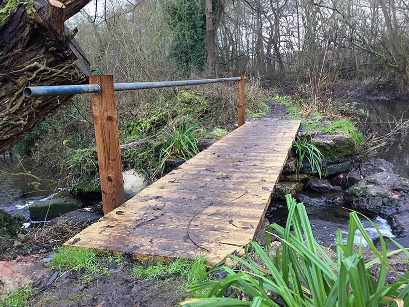 New purposely built bridge