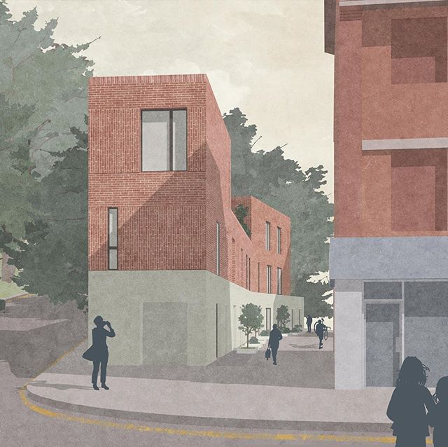 Our proposal for a new mews development in South London takes cues from the neighbouring mansion block in its materiality and brings a forgotten sliver of land back into use. . . . . . . #londonarchitects #architecture #architecture #londonarchitecture #architecturalvisualisation #mews #brickarchitecture #redbrick #reuse #regeneration #thebna #smallsites
