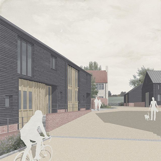 Had our heads down for a little while whilst we worked up proposals for over 30 new homes in rural Hertfordshire. The proposed design was praised by the Local Authority as 'exemplary' and we're looking forward to submitting in the next few weeks. . . . . . #architecture #housingdesign #architects #londonarchitecture #housingdesignawards #ruralhousing #ruralarchitecture #exemplary #gooddesign #londonarchitects #homes #placetolive #greygriffithsarchitects #greenbelt #architecturalvisualisation #architectural #architecturalvisualization #architecturaldrawing #architectureanddesign #render