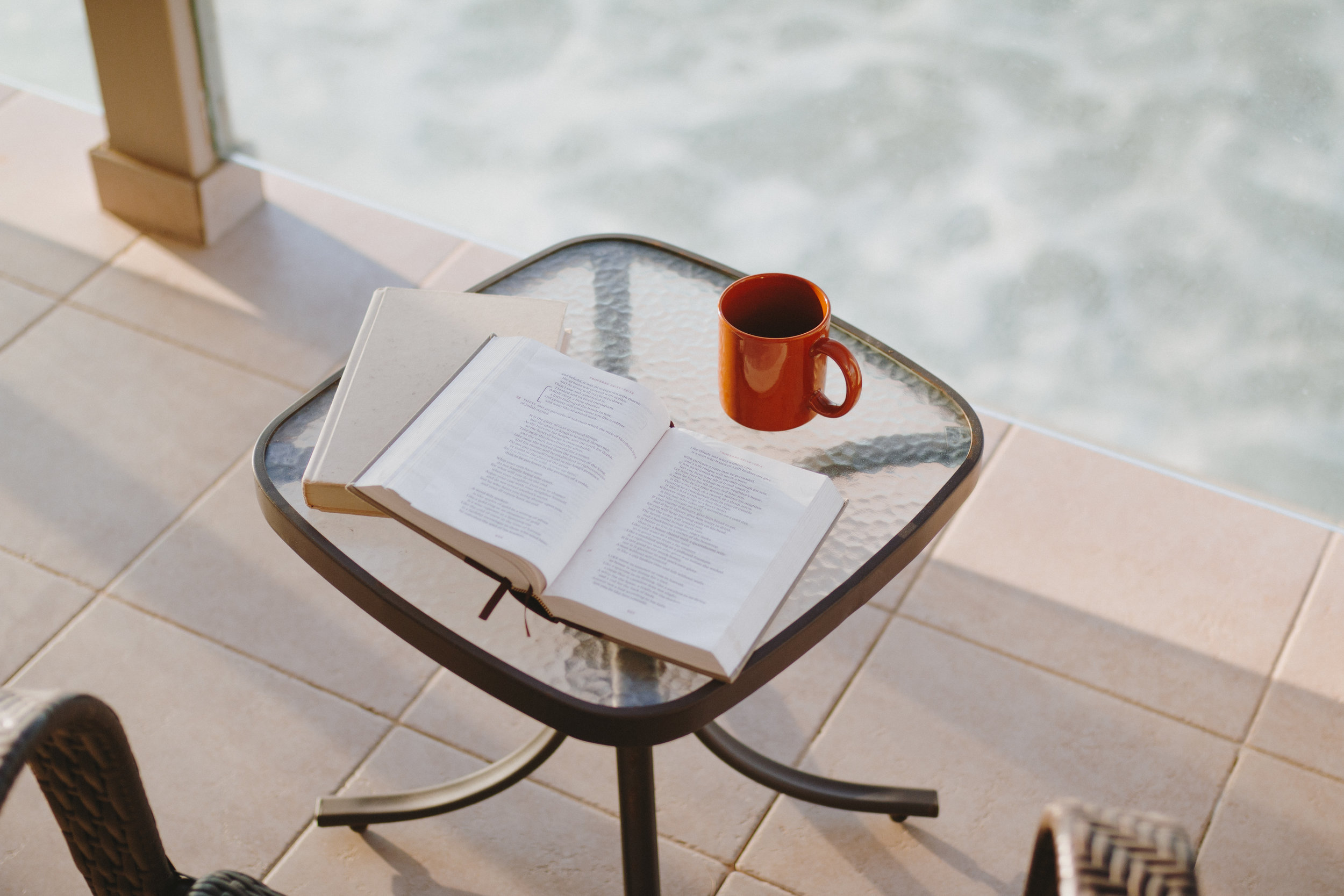 devotions - Encouragement through the Word of God.