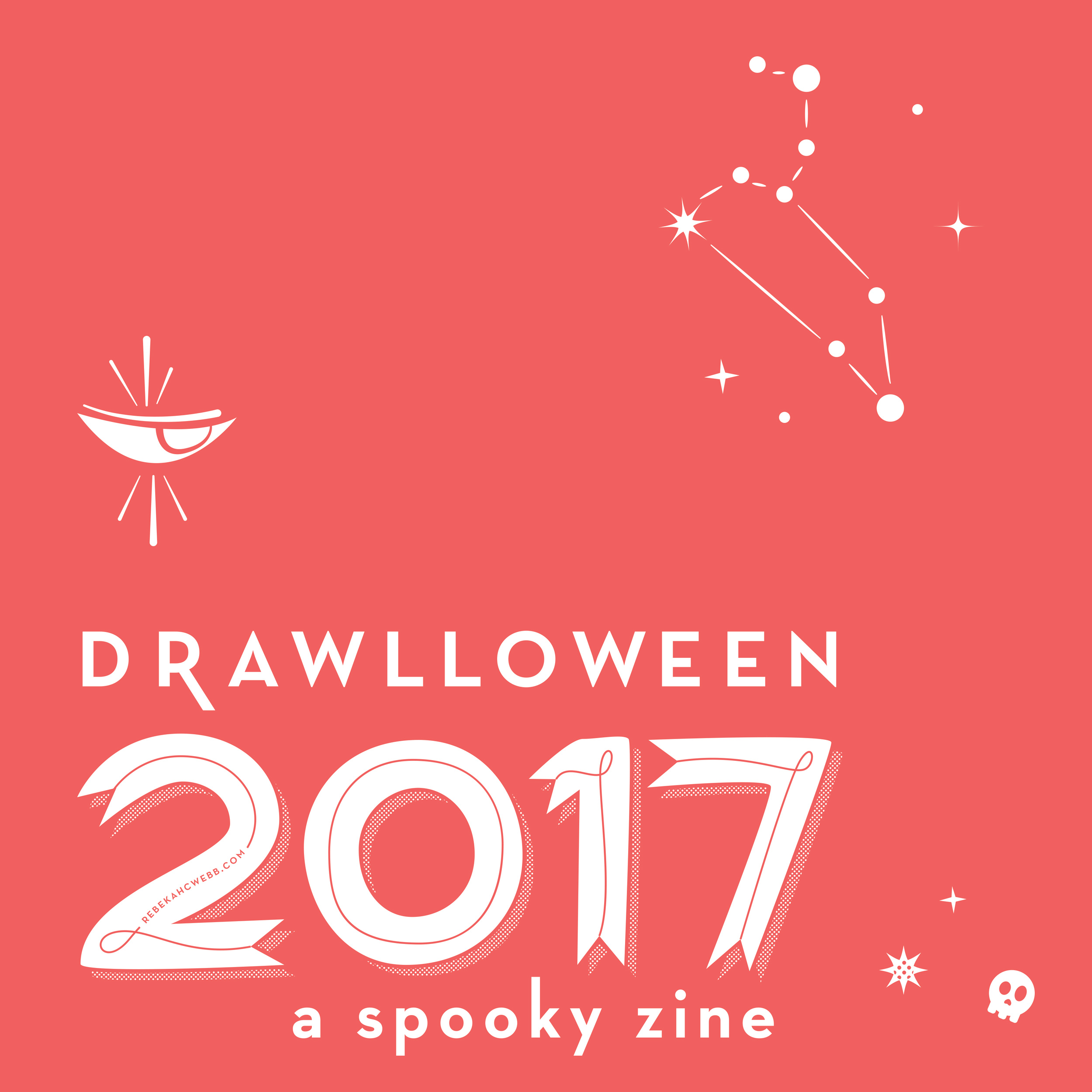Halloween 2017zine  - Illustration, layout & printingas well as collateral.