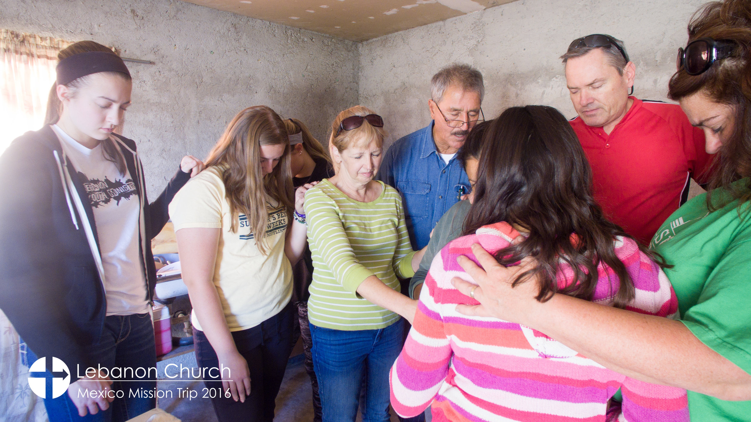 Praying for a mother and her two daughters