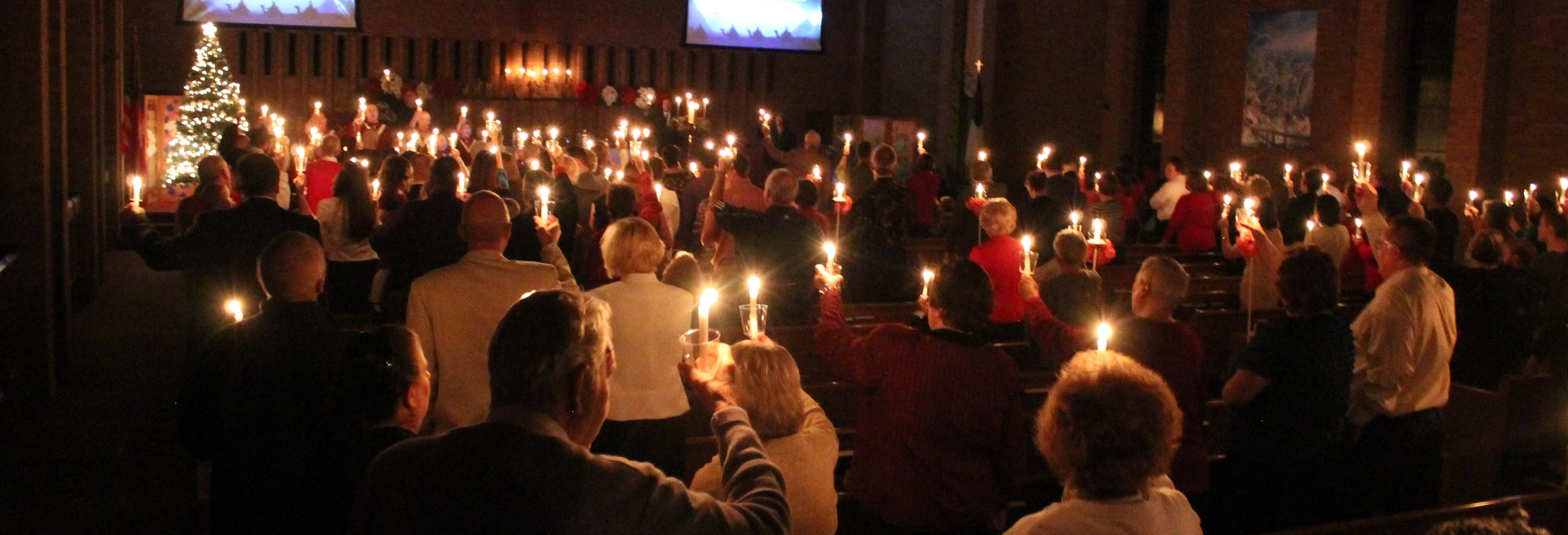 Christmas Eve Candle Light Service - Dec 24 - 7:00pm
