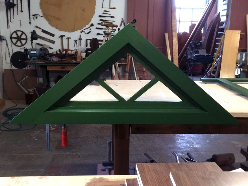 triangle window
