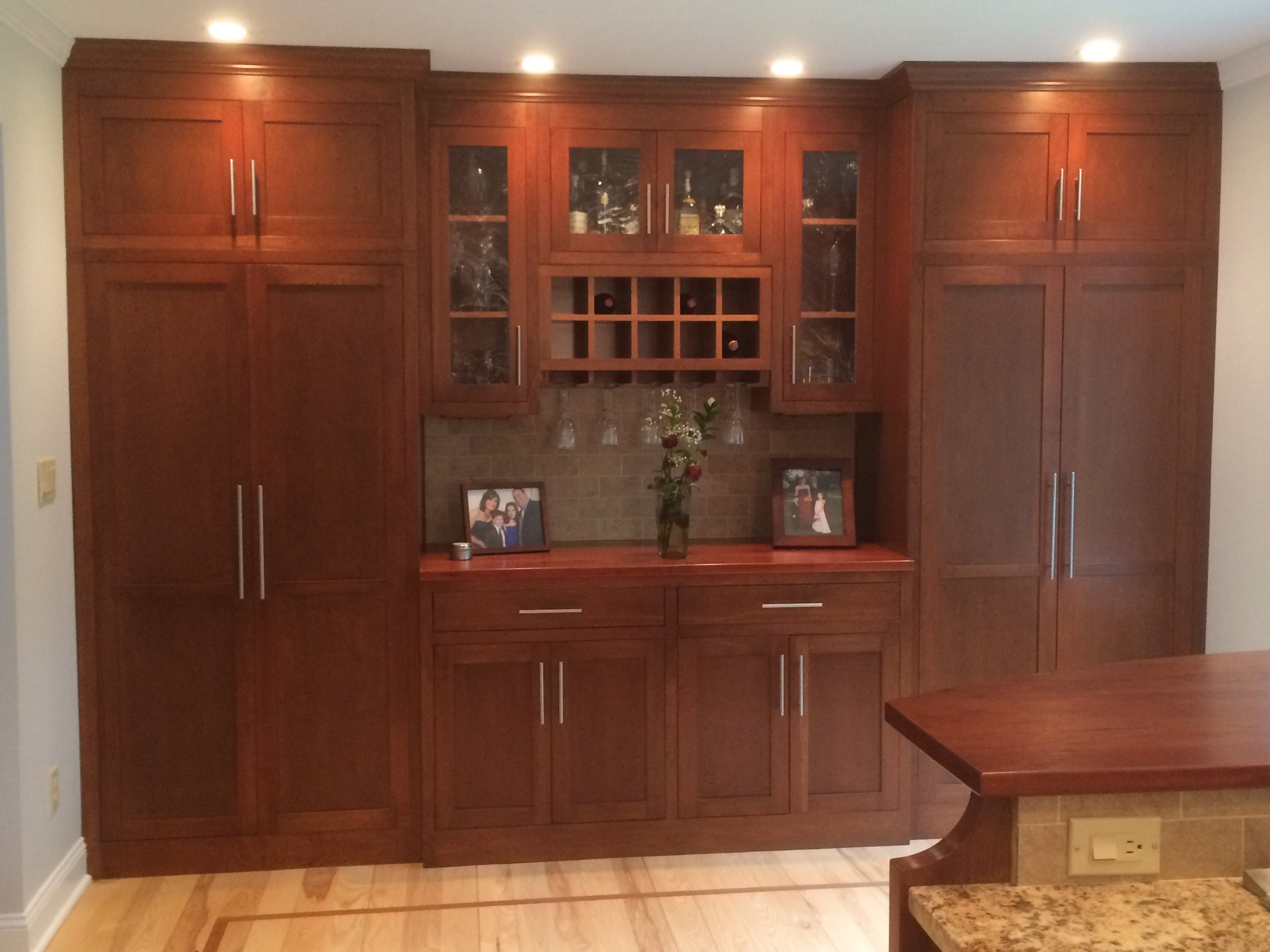 Custom Bar and Pantry
