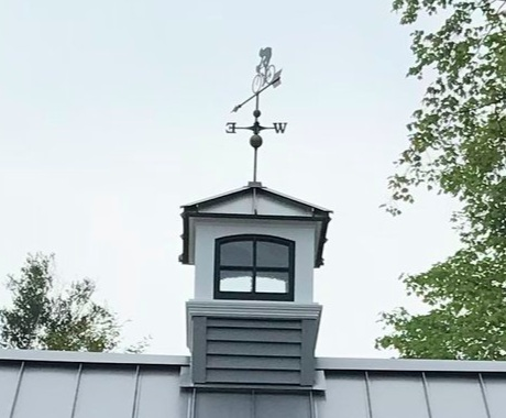 custom built cupola