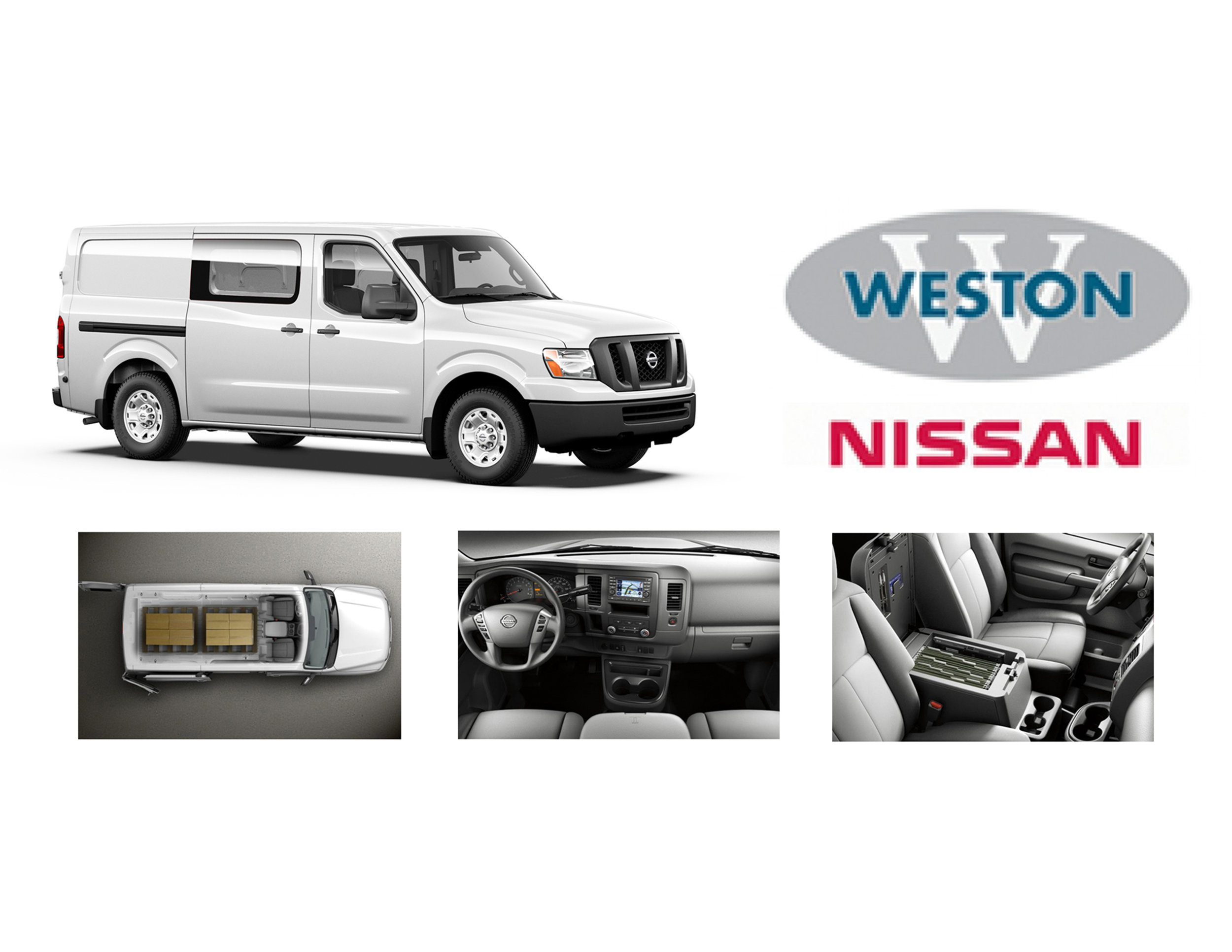 The NIssan NV 1500 - a solid van built on a truck frame.