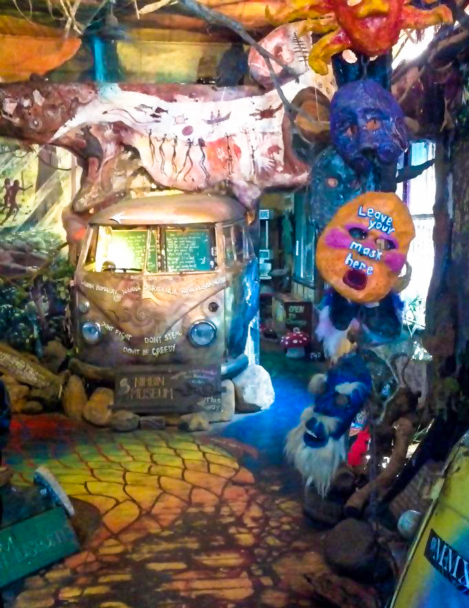 There's even a museum entirely devoted to 420. I think the whole town forgot to sweep it for a while. Photo: Chris Hetem