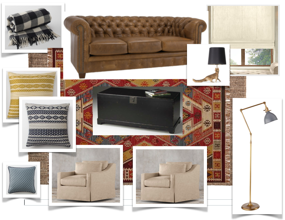 COMMON AREA MOOD BOARD