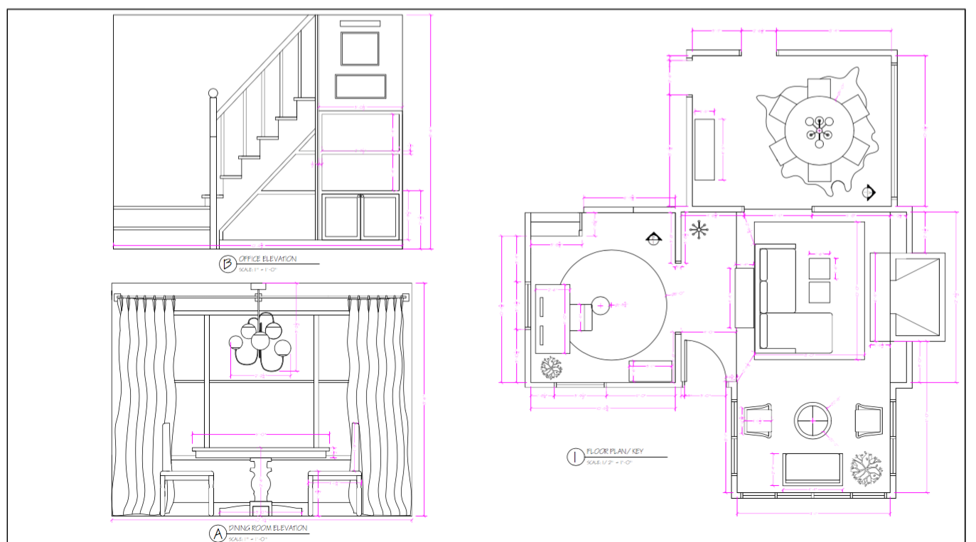 TO-SCALE ROOM LAYOUTS