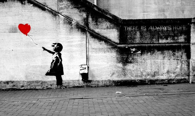 it's just another Banksy...