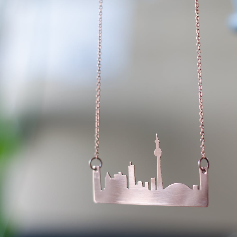 Toronto Skyline Necklace