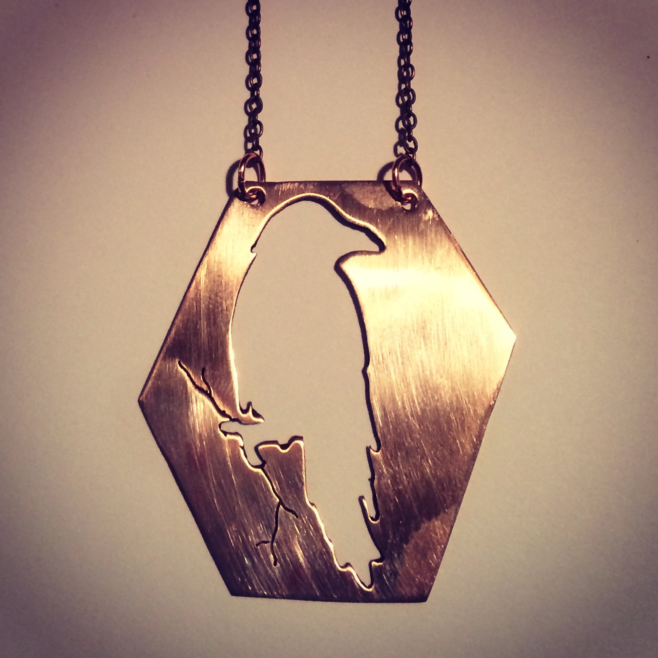 Raven Cutout necklace