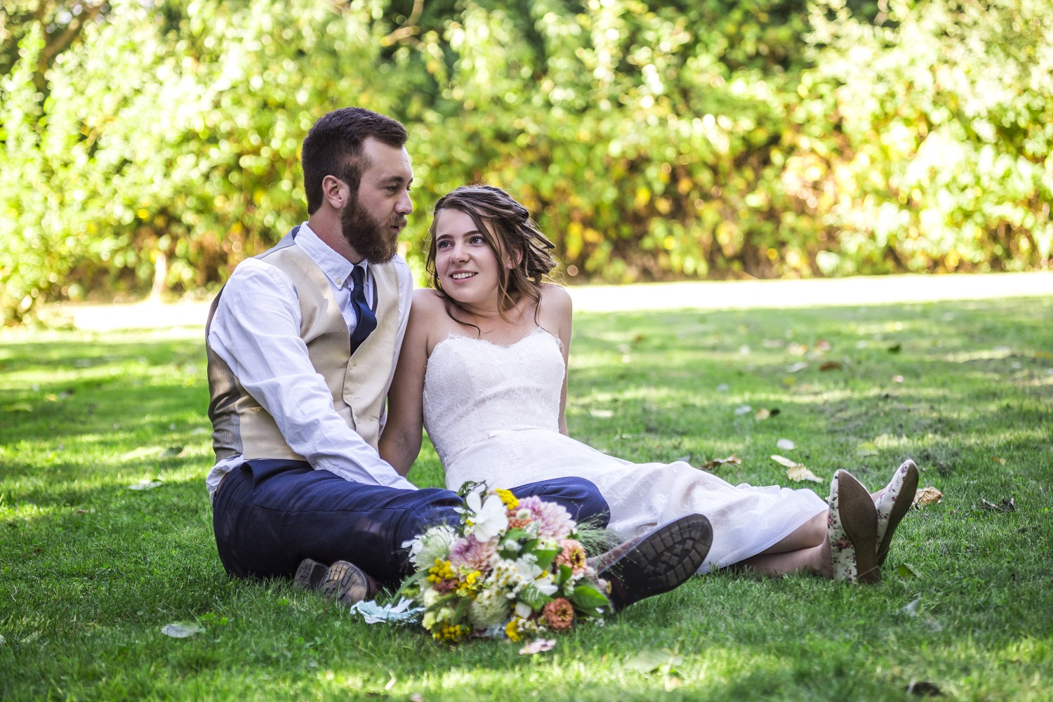 We had an awesome experience with Pink Daisy booking our photographer. The team is very accommodating and personable, and they seem to genuinely care about your wedding day. We love our photos and the whole experience!   -Hailey and Aaron