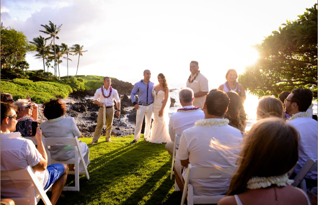 """""""We love how natural the photos are and that you captured the 'real' us. Thank you Paige so much for being a part of our fun Maui weekend!""""  - Kim and Chris"""