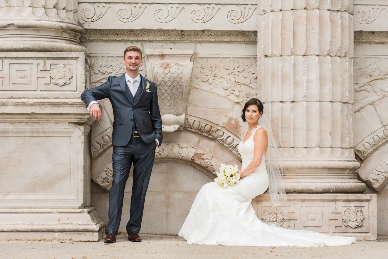It was an amazing experience to have Ricardo photograph our wedding. His personality and professionalism makes everything very easy. We are so lucky that we will forever look back on our wedding day through his photographs.  - Mary and Michael