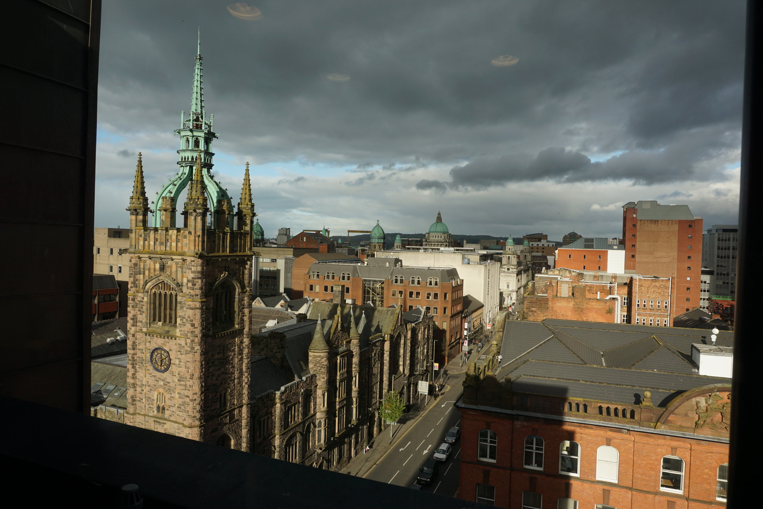 The city of Belfast served as the host city to this year's conference for administrators of international peace museums.