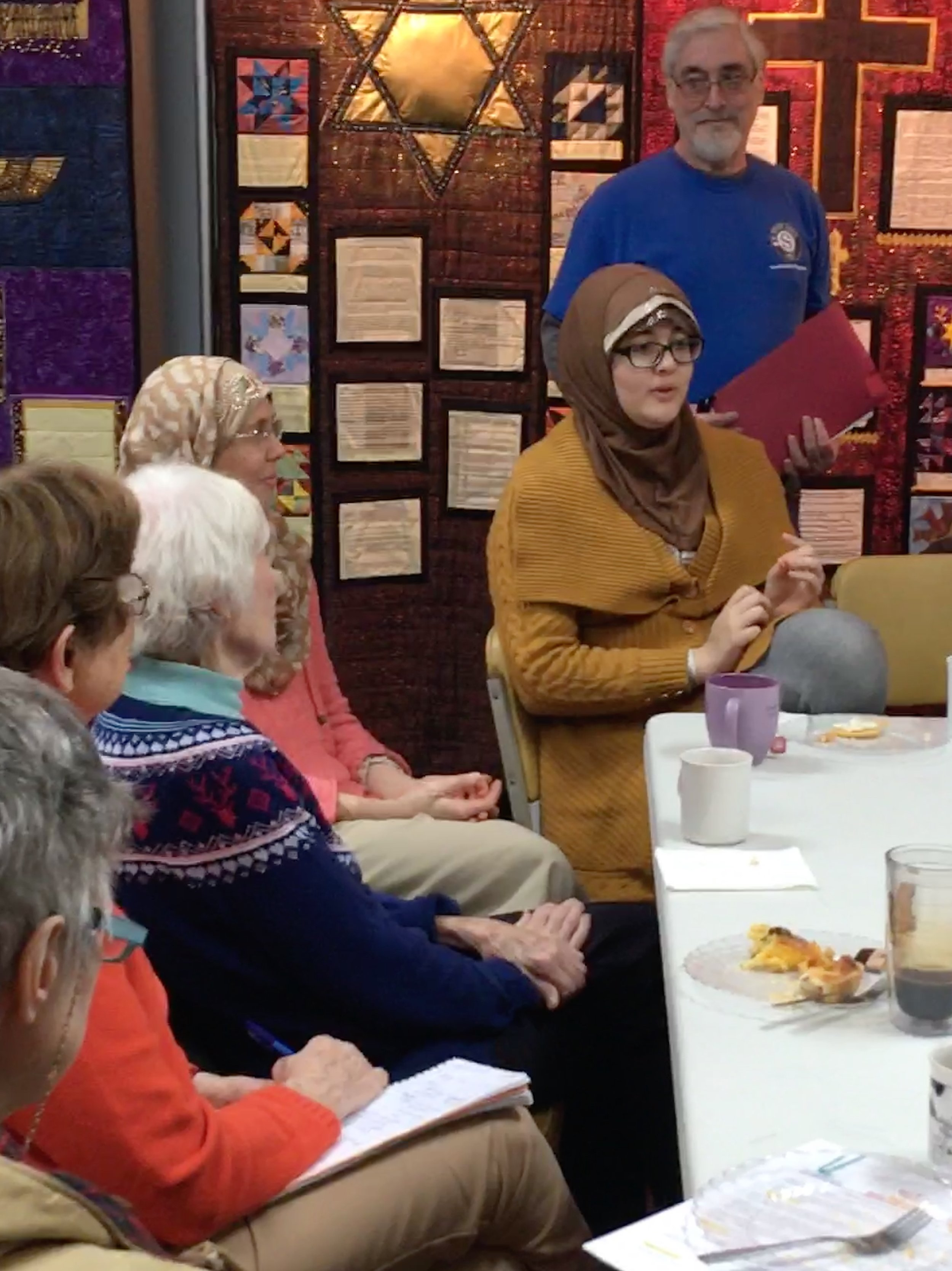 The Museum holds monthly volunteer breakfasts for current volunteers and those interested in becoming more involved. Look for announcements on the next event.