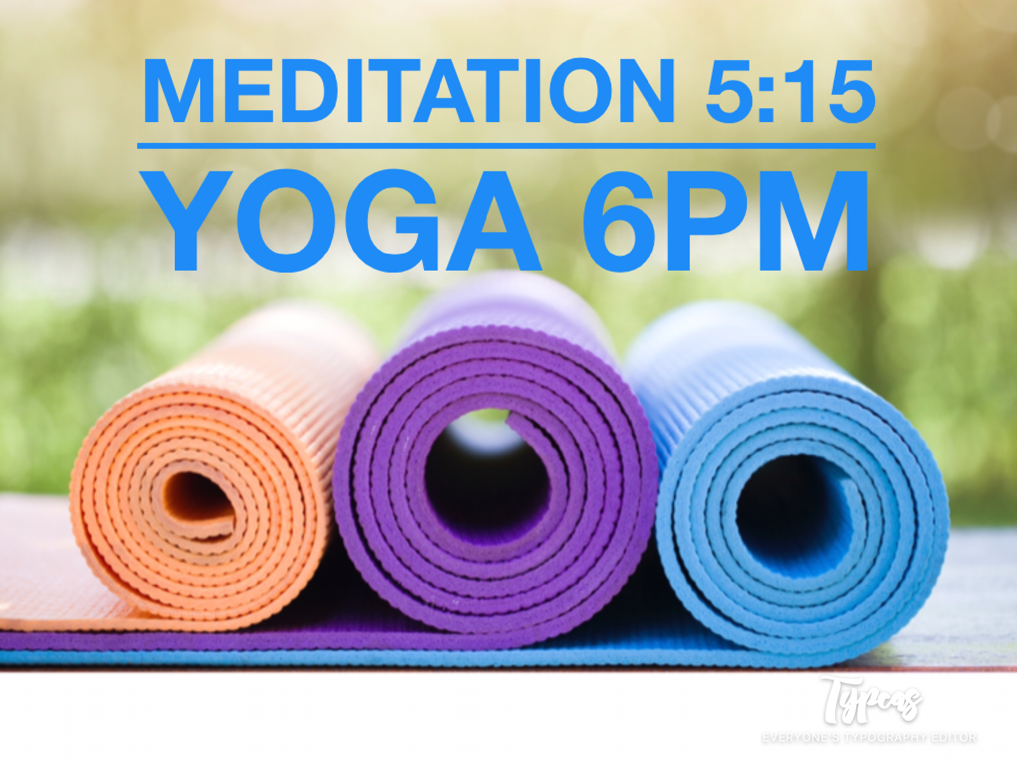 Every Wednesday is  Zensday  at the Peace Museum! We offer free meditation at 5:15, followed by yoga with Kaye at 6pm. Bring your reusable water bottle and mat or borrow one of ours.